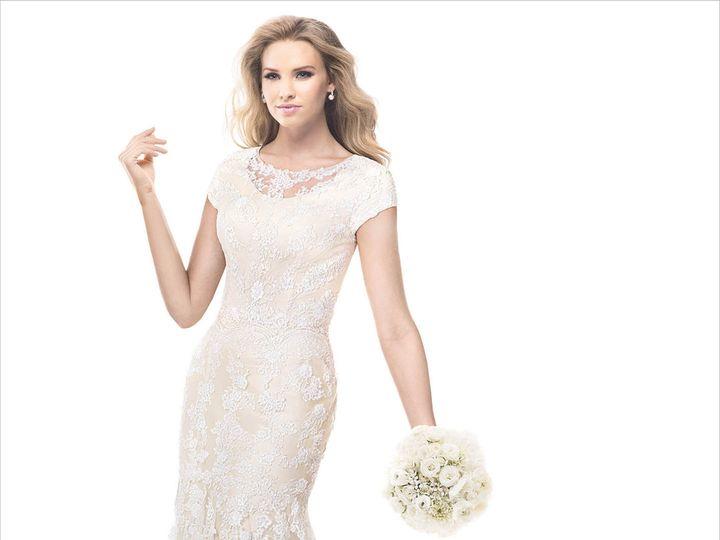 Tmx 1457019097998 Maggie Sottero Nadine 4mk918 Front Stevens wedding dress