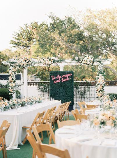 Perry House Garden Reception