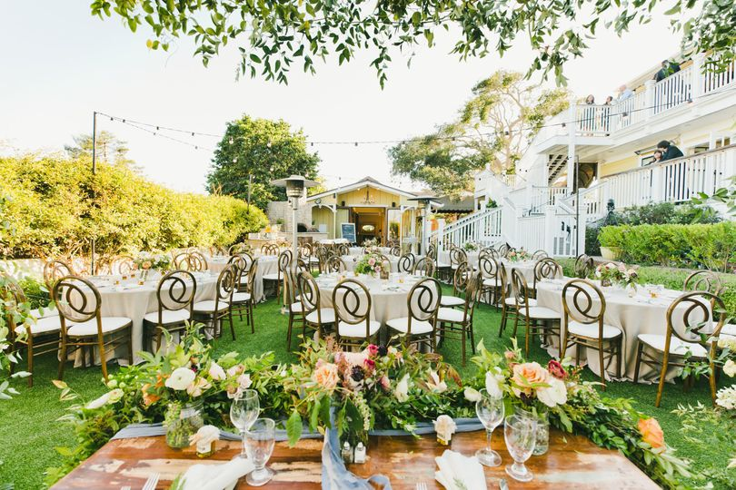 beautiful garden setup looking at carriage house 51 411684 v1