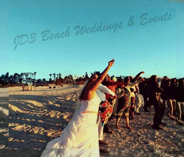 JD3 Beach Weddings & Events - Tampa Bay Beach Weddings w/JD3