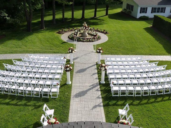 Tmx 1503432949038 Red White Floral Arch Brookfield, CT wedding venue