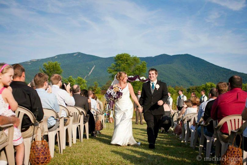A fantastic shot from Monica and Steve Kniss's wedding last year. Photographs by Michael Spory and...