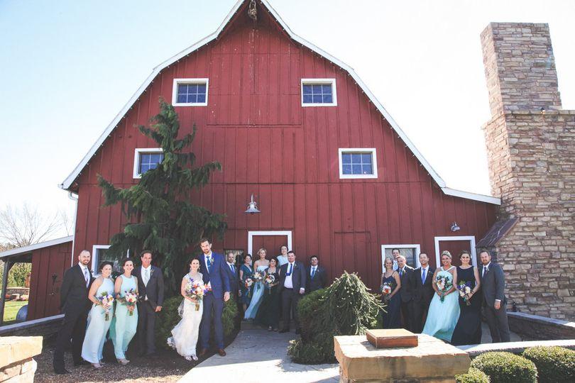 Barn wedding Fossil Photography