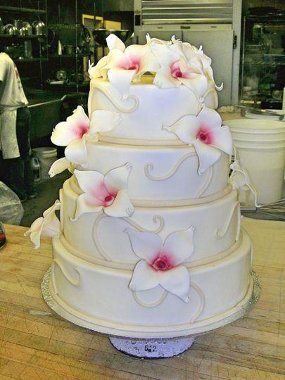 Patisserie Poupon Wedding Cake Baltimore MD WeddingWire
