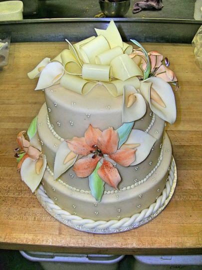 wedding cakes maryland patisserie poupon wedding cake baltimore md weddingwire 24993