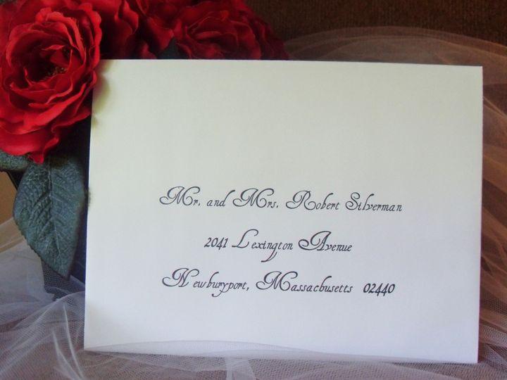 Tmx 1427485334494 Gabrielle1 Lexington, Massachusetts wedding invitation
