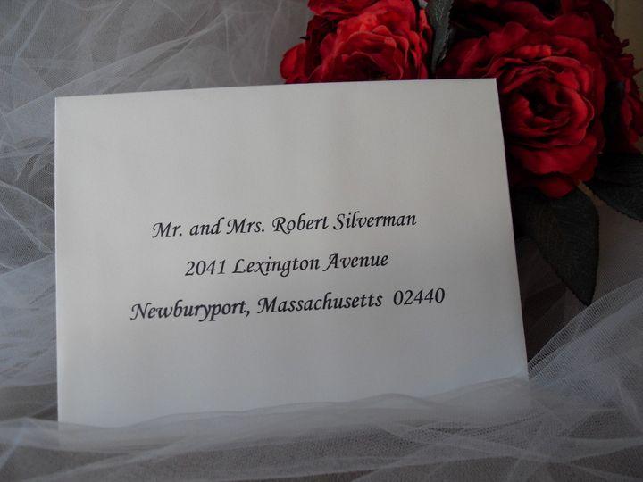 Tmx 1427486021190 Leah 1 Lexington, Massachusetts wedding invitation