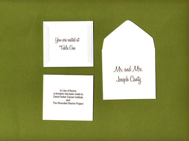 Tmx 1427486832435 Allison Canty Escort Set Proof001 Lexington, Massachusetts wedding invitation