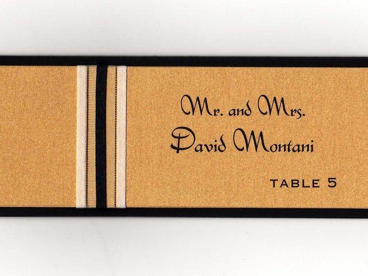 Tmx 1427488469744 Meaghan Place Card Sample123 Lexington, Massachusetts wedding invitation