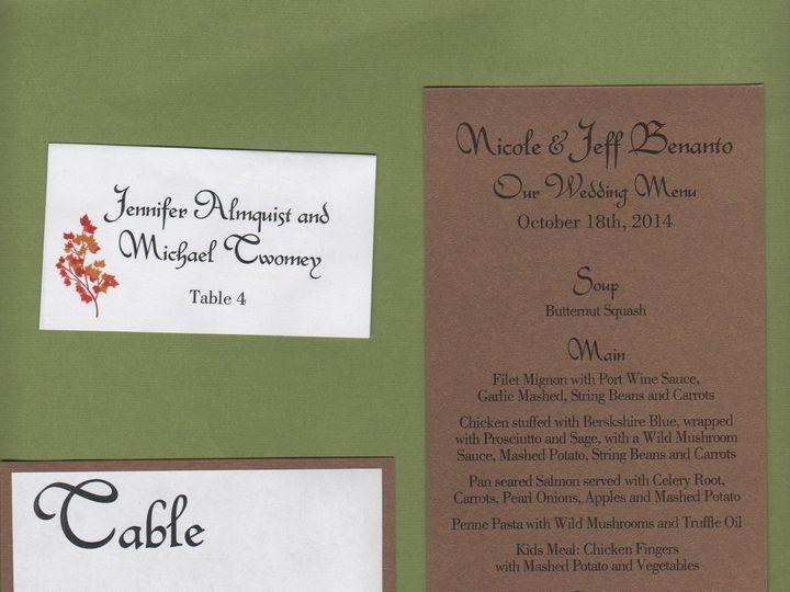 Tmx 1427488774092 Nicole Cochran Escort Menu Table Number Proof 001 Lexington, Massachusetts wedding invitation