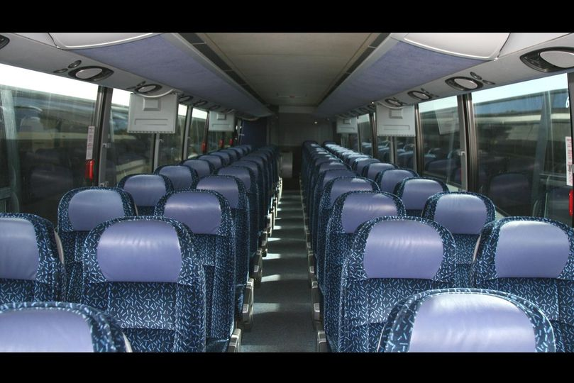 passenger bus interior f2b