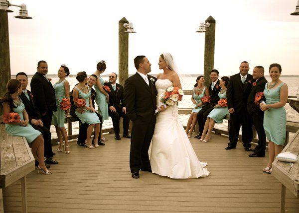 Bridal Party, Beach Wedding, Sunset, Romantic, Editorial, Bride, Formal