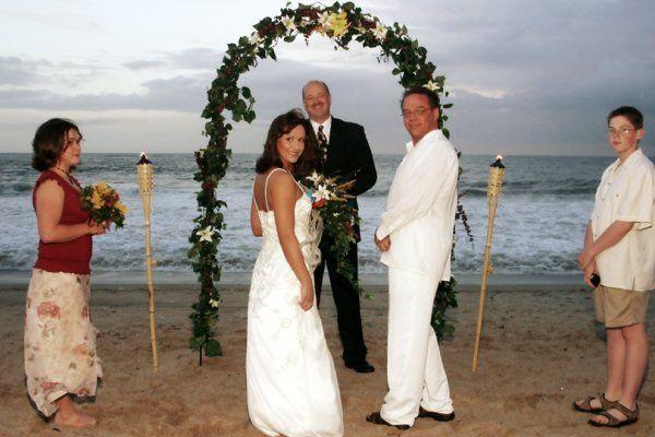 An intimate wedding
