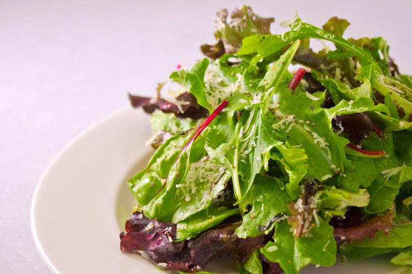 Salad anyone...Fresh Lemon, Parmesan and EVOO - Rachel Ray would be proud!