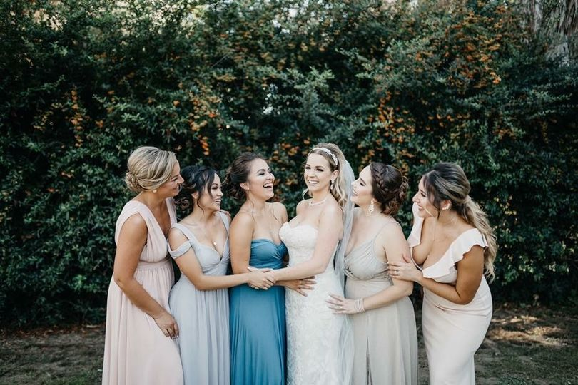 Bridesmaids | Hair by Saundra, Makeup by Rocio, bride | Hair & Makeup by Saundra