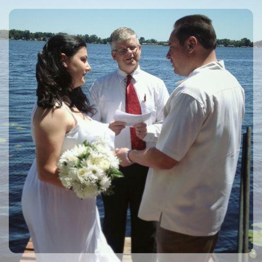 lake wedding 1