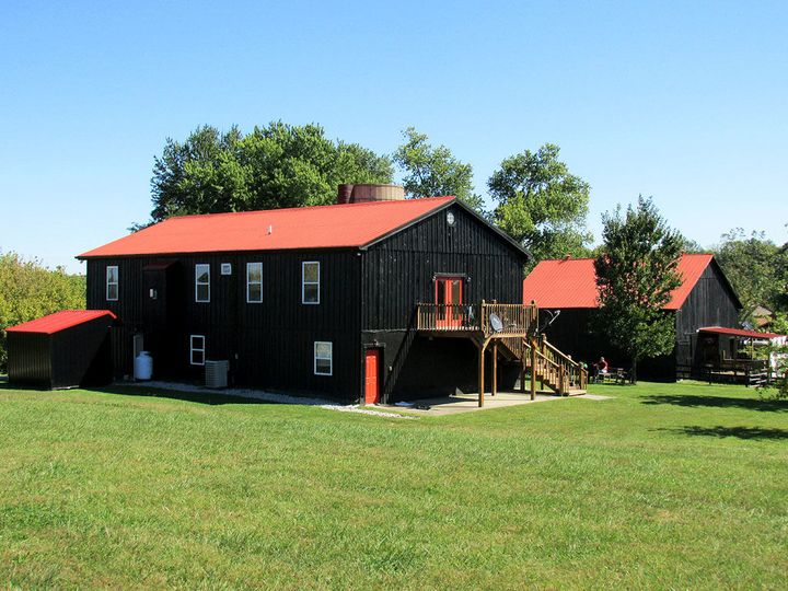 Backside of Barns