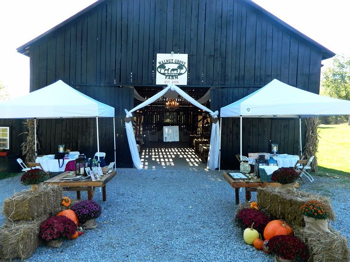 Event Barn Fall Setup