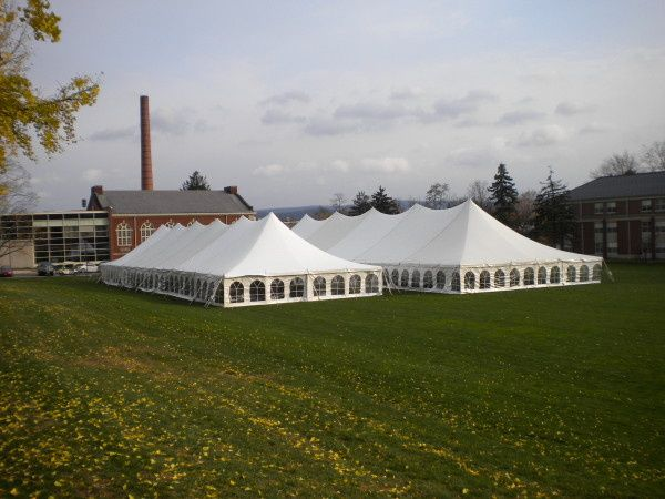 Pole Tents at Susquehanna University