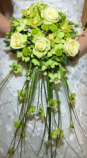 Yellow green bouquet
