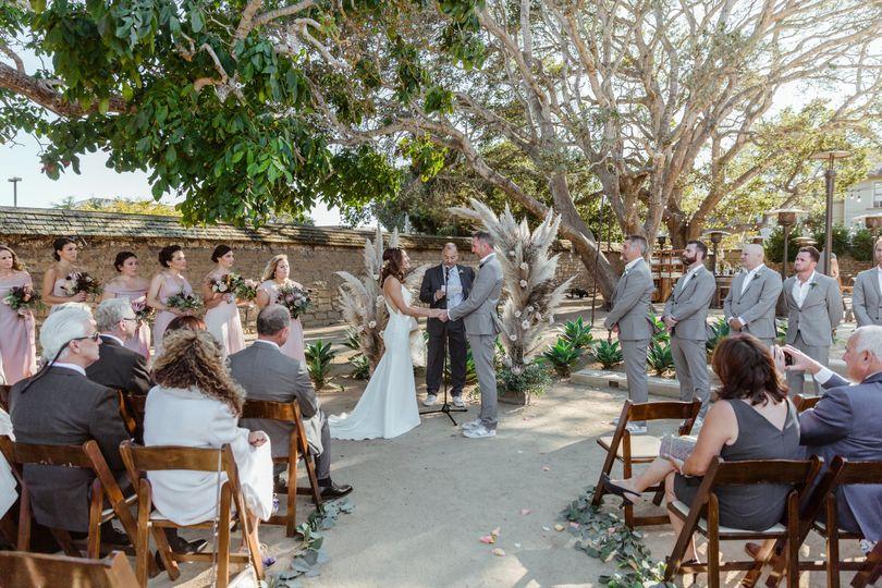 Ceremony: Lower Terrace