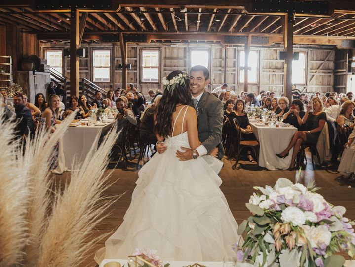 First dance in the barns