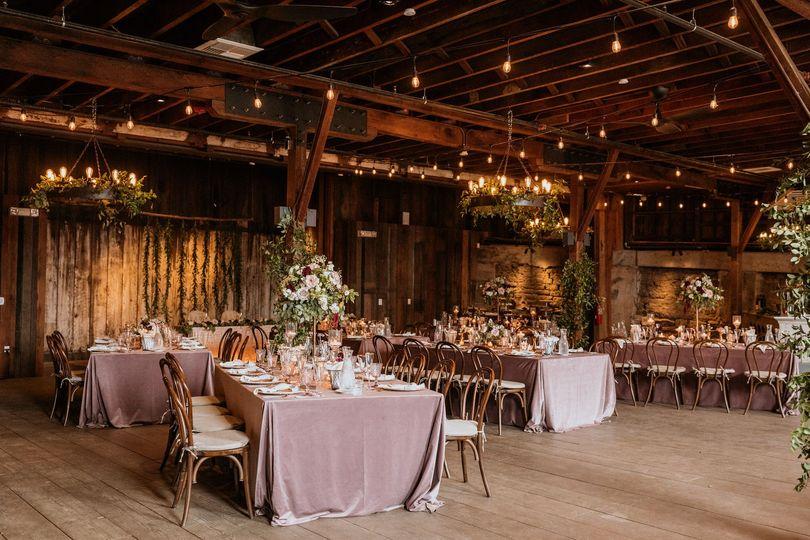 Barns Wedding Reception
