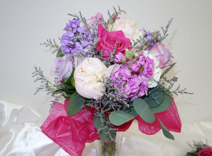Violet carnations