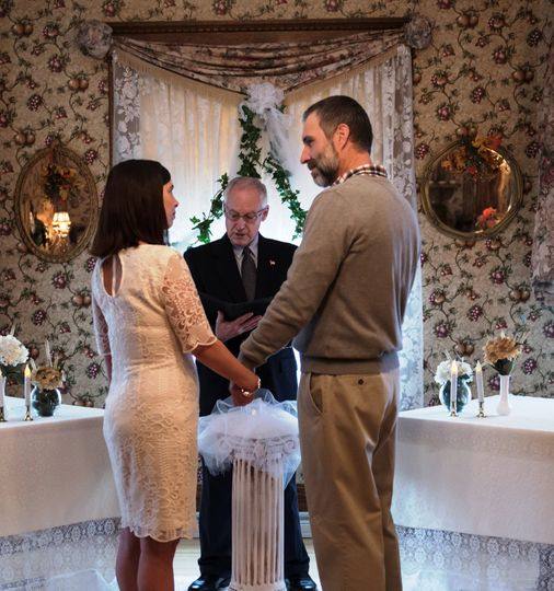 Intimate ceremony