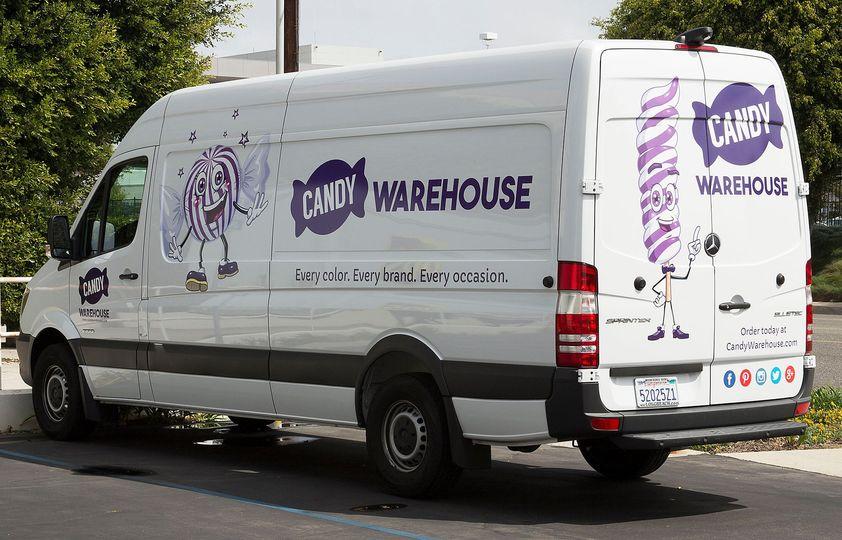 candywarehouse van