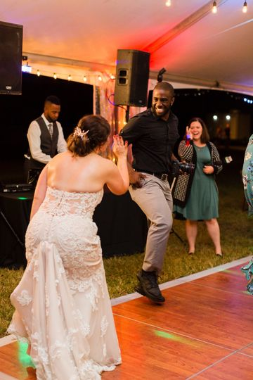 Dancing with Bride