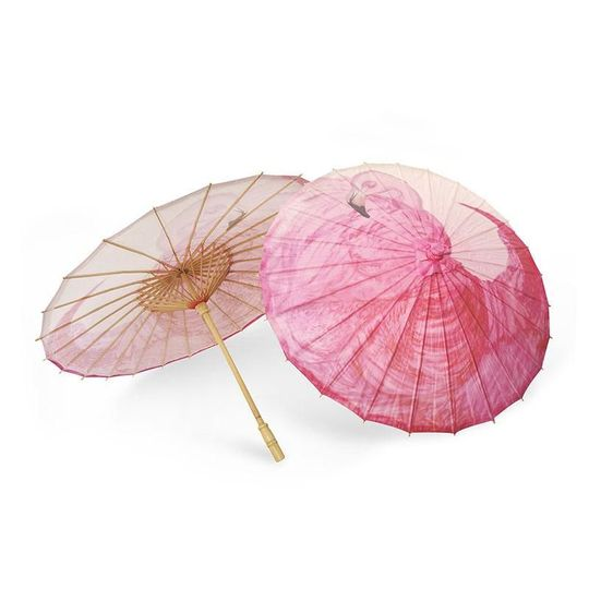 ParaSol Flamingo A lovely pop of Flamingo pink! Inspired by the flamingos inhabiting the Yucatán...