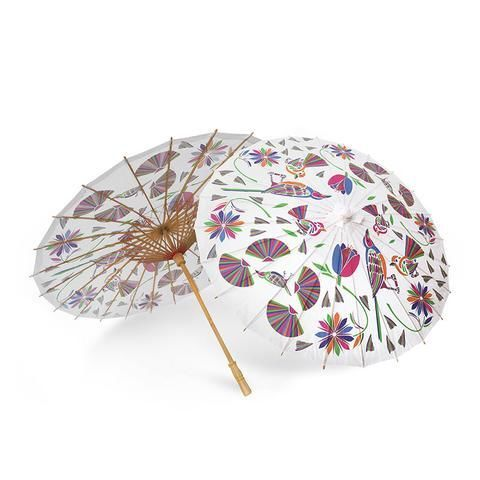 ParaSol Otomi A modern twist on the traditional artwork of the Otomí people from the Huatesca region