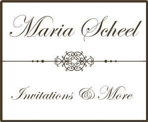 Maria Scheel Invitations & More