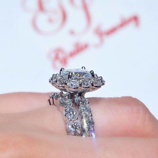 Shimmery ring