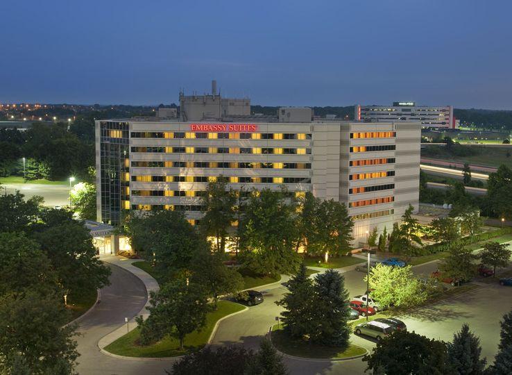 Embassy Suites By Hilton Detroit Troy Auburn Hills Venue Troy Mi Weddingwire