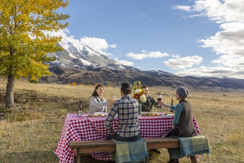 Back country dining