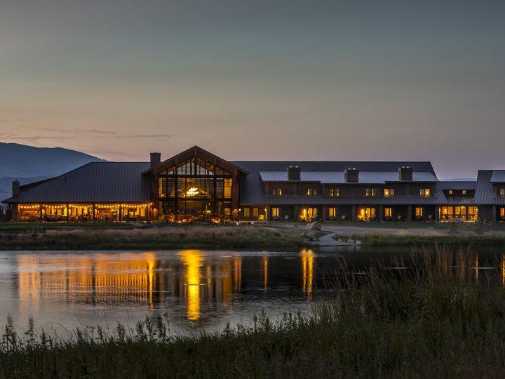 Tmx Exterior Overlooking Pond At Dusk 51 1012884 Pray, MT wedding venue
