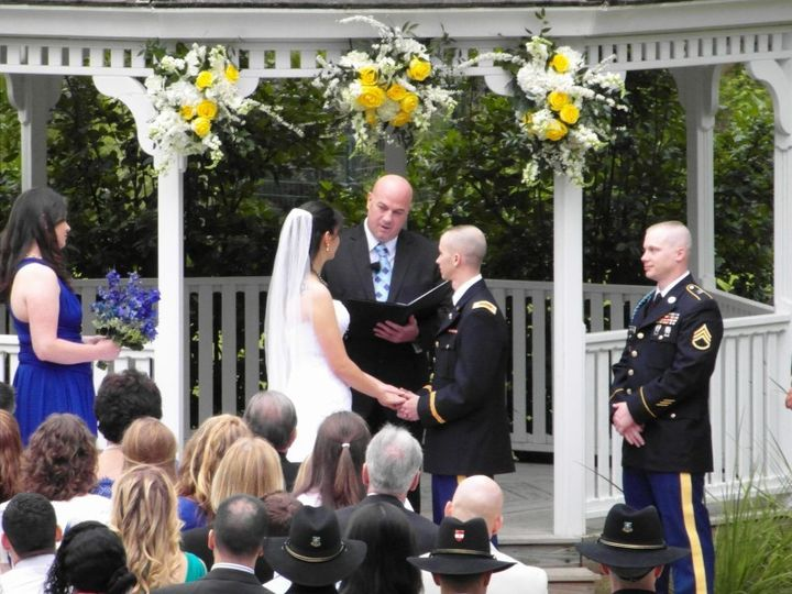 This was a beautiful military wedding in Round Rock.