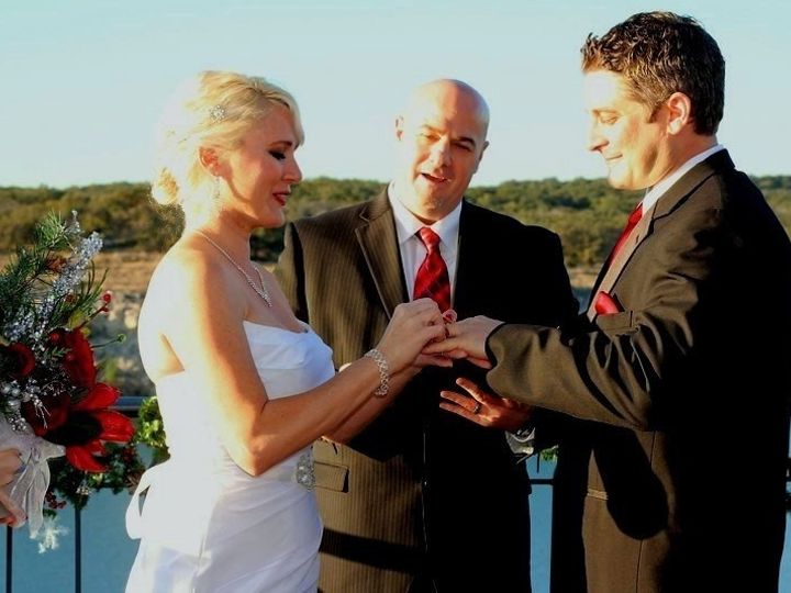 Tmx 1423098227799 Ring Bride Allison  Jeff The Island Temple, Texas wedding officiant