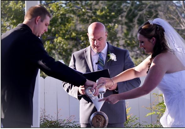 Tmx 1447437180548 Unity Ceremony Whiskey Barrel The Page House  Temple, Texas wedding officiant