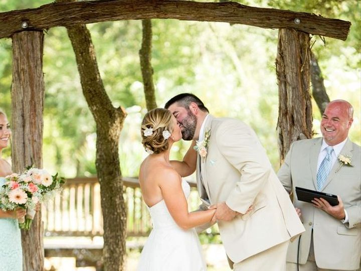 Tmx 1447445469174 Kiss Woody  Chelsea   Smith Photography Kyle Temple, Texas wedding officiant