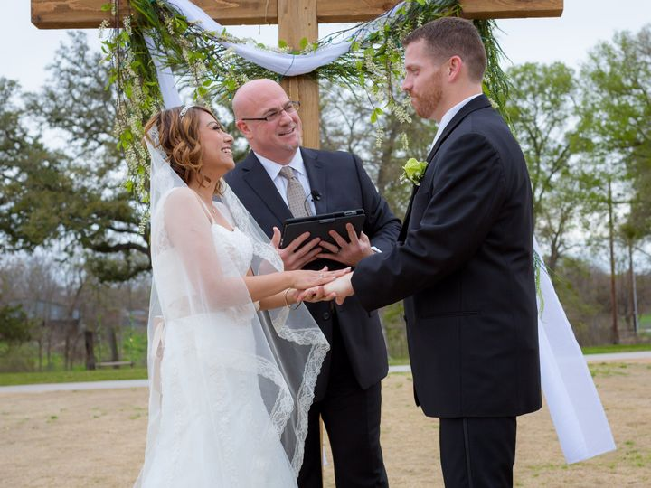 Tmx 1447445518247 Happy Couple Jeremy  Grisel Lone Oak Temple, Texas wedding officiant