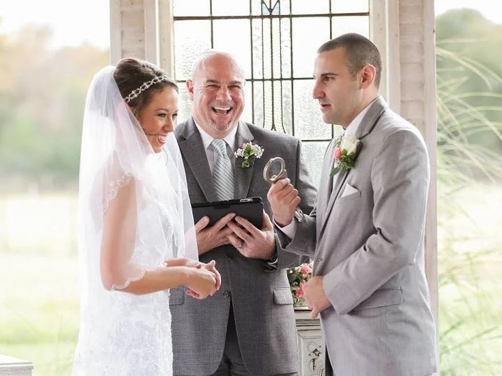 Tmx 1467413901792 Handcuffs 2 Travis  Summer Gruene Estate Oct 2015 Temple, Texas wedding officiant