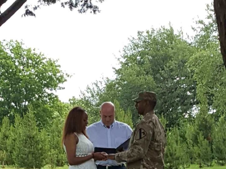 Tmx 1493318058887 Silo And Oak Elopement Military Temple, Texas wedding officiant