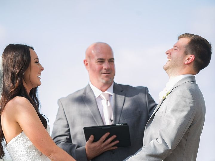 Tmx 1493910386382 Happy Chris  Erin Stonehouse Villa 03 18 17 Temple, Texas wedding officiant