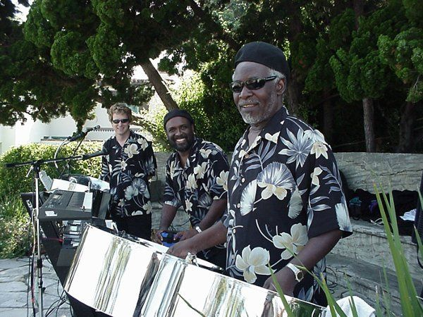 Steel Drum Band with Vocals for cocktails, rehearsal dinner, and/or reception.