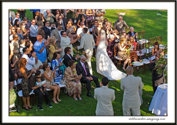 This wedding was in San Clemente. Our steel drum duo provided music for the pre-ceremony, ceremony,...