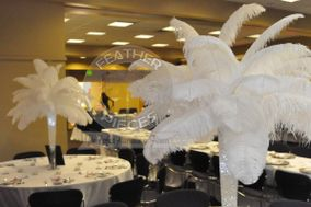 Ostrich Feather Centerpiece Rentals by FeatherPieces™