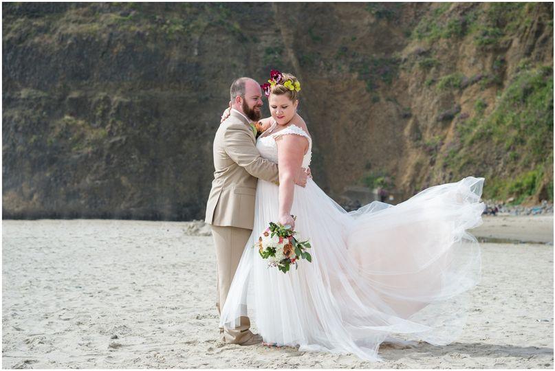 oceanside oregon coast summer wedding photography0